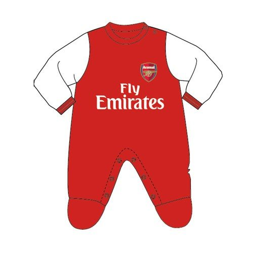 Arsenal Sleepsuit - 0/3 Months