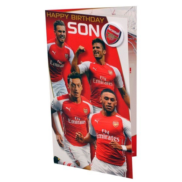 Arsenal Son Birthday Card - 6PK