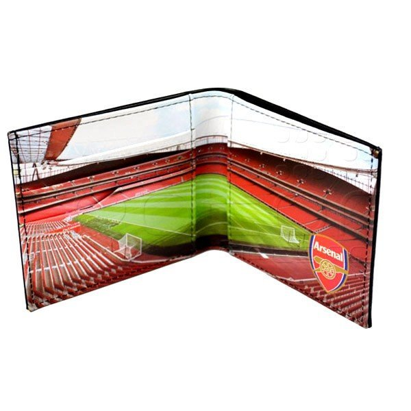 Arsenal Stadium Leather Wallet