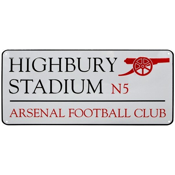 Arsenal Street Sign (Highbury)