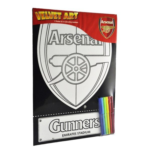 Arsenal Velvet Art Poster