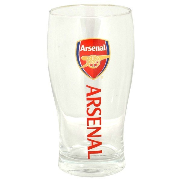 Arsenal Wordmark Crest Pint Glass