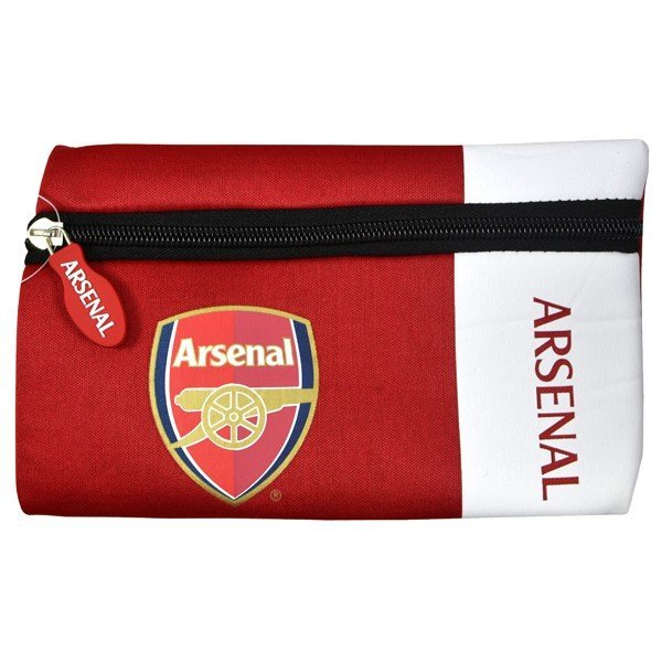 Arsenal Wordmark Flat Pencil Case