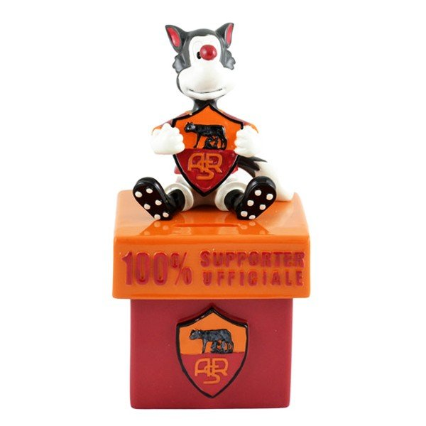 AS Roma Mascot Ceramic Money Box