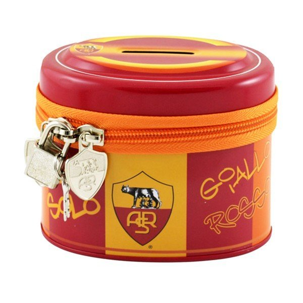 AS Roma Money Box with Zipper
