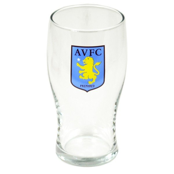 Aston Villa Conical Pint Glass