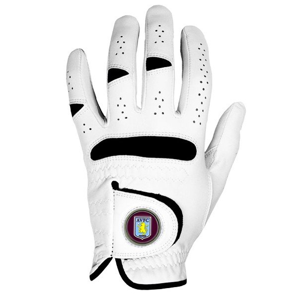 Aston Villa Golf Glove & Marker -S