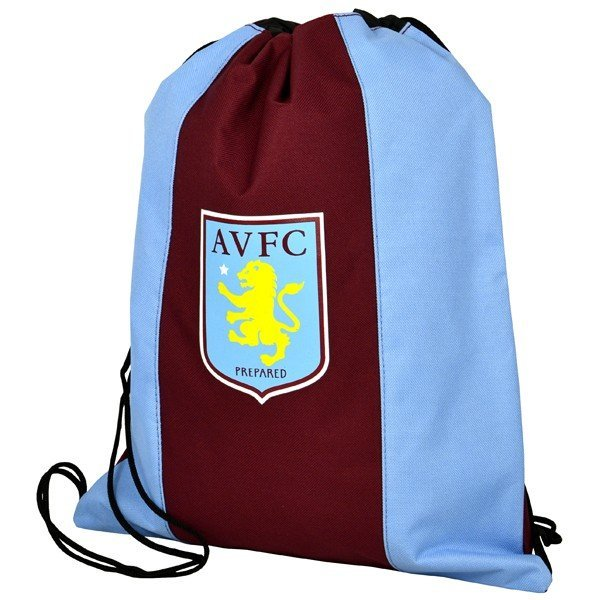 Aston Villa Gym Bag - Claret / Sky