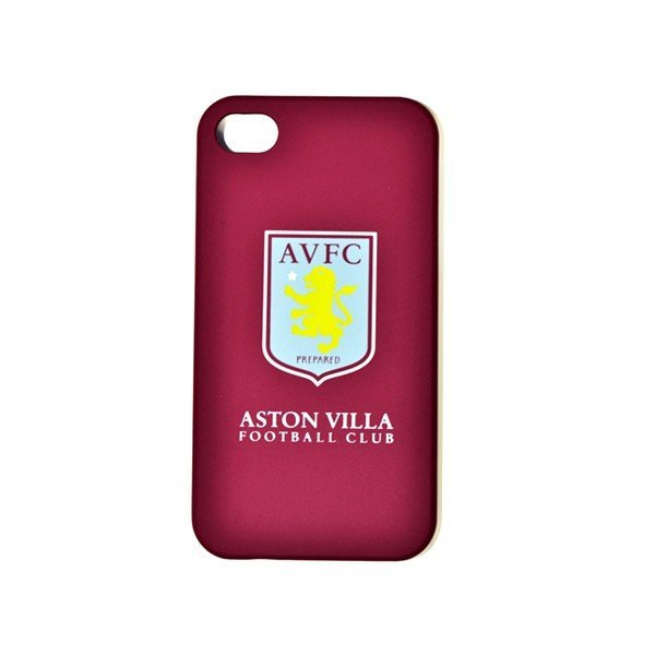 Aston Villa iPhone 4/4S Plastic Phone Case