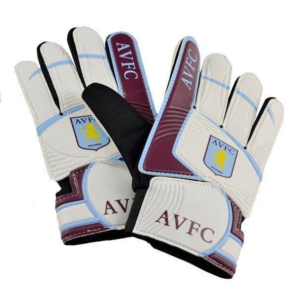 Aston Villa Kids Goalkeeper Gloves