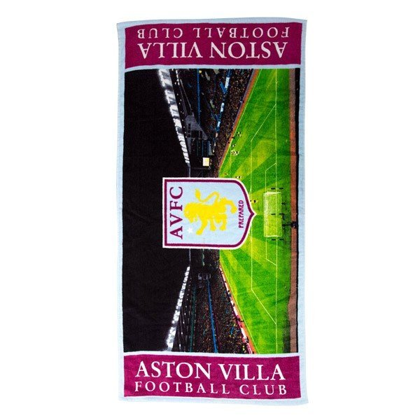 Aston Villa Stadium Beach Towel