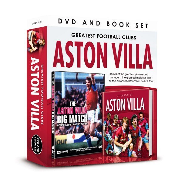 Aston Villa The Big Match DVD And Book Set