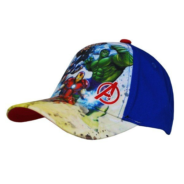 Avengers Group Cap Blue - Junior