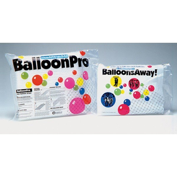 Balloon Pro Clear Netting 13 x 50 Foot