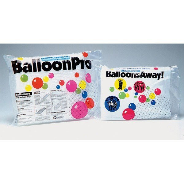 Balloon Pro Clear Netting 14 x 25 Foot