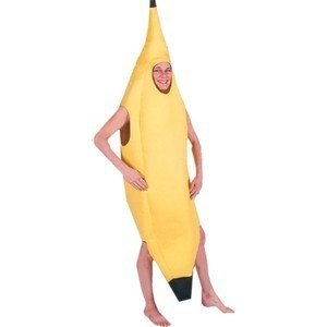 Adults Banana Costume One Size