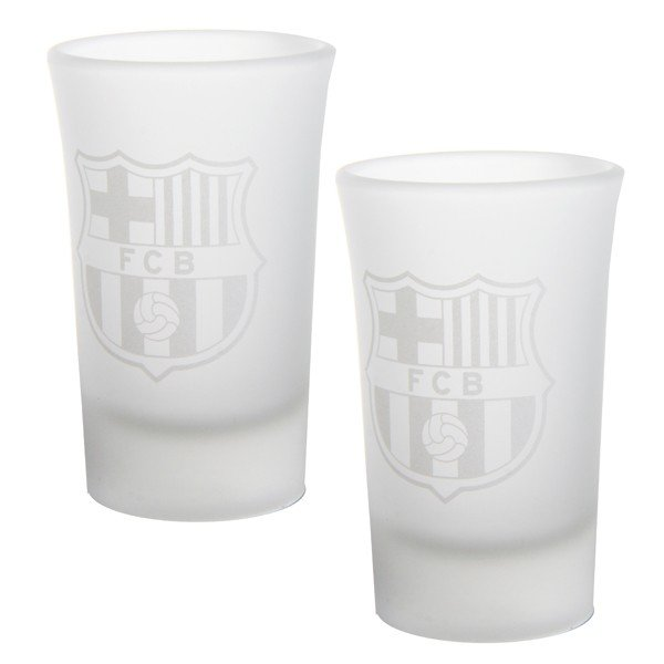 Barcelona 2Pk Frosted Shot Glass