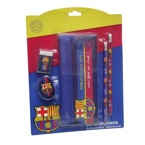 Barcelona 5 Pc Stationery Set
