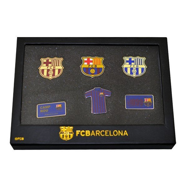 Barcelona 6 Piece Badge Set