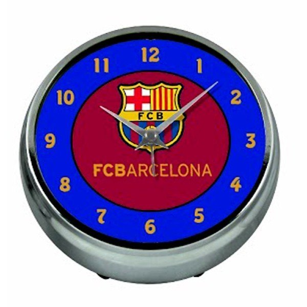 Barcelona Aluminium Table Clock - Blue