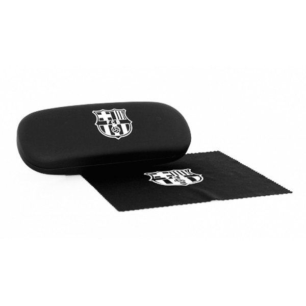 Barcelona Black Glasses Case