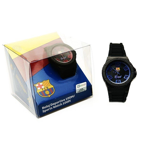 Barcelona Blue And Black Sports Watch