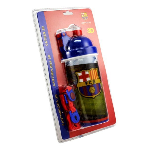 Barcelona Cateen 3D Water Bottle