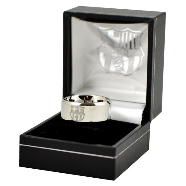 Barcelona Crest Band Ring - Small