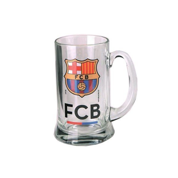 Barcelona Crest Medium Beer Tankard - The Best Team