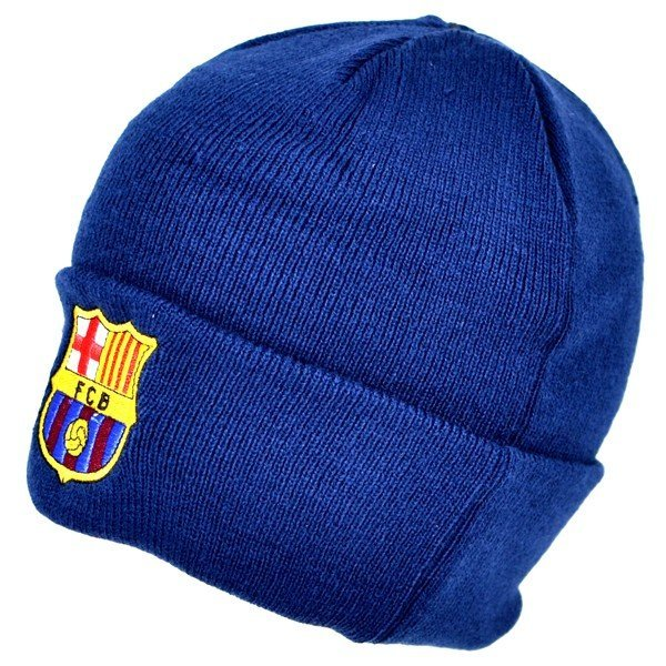 Barcelona Cuff Knitted Hat - Navy