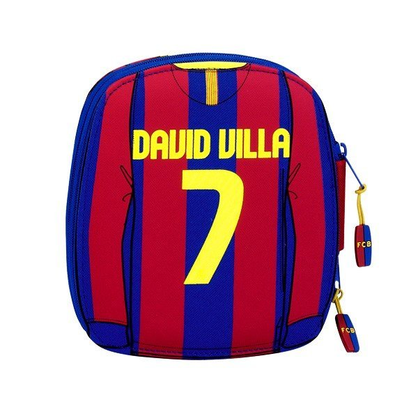 Barcelona D.Villa 34PC Double Filled Pencil Case