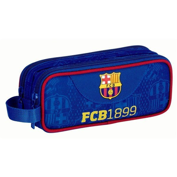 Barcelona Double Pencil Case - 21Cms