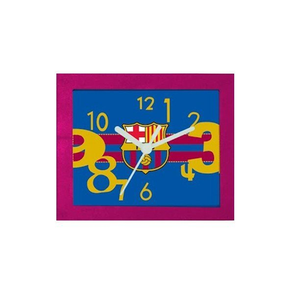 Barcelona Frame Table Clock - Burgundy