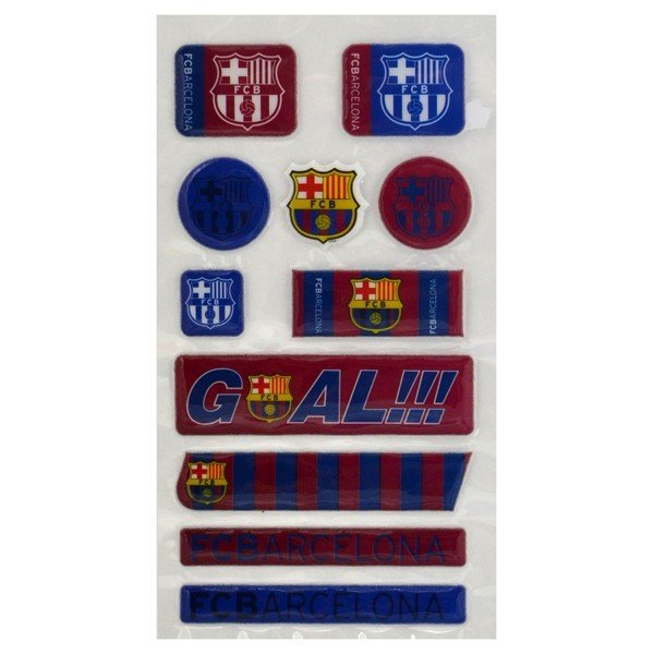 Barcelona Fun Bubble Sticker Set