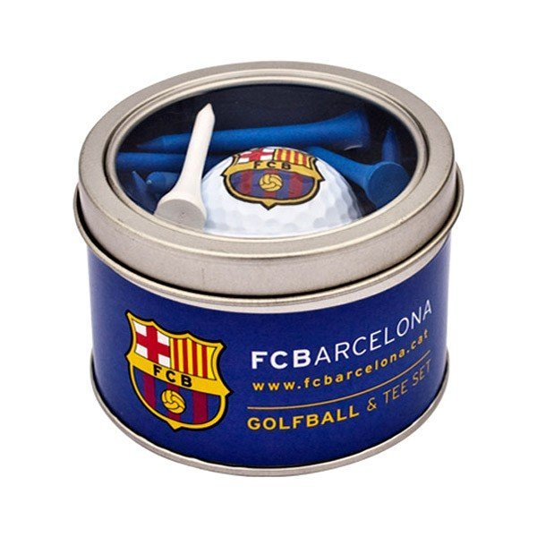 Barcelona Golf Ball & Tee Set