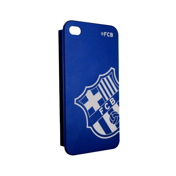 Barcelona iPhone 4/4S Hard Phone Case - Blue