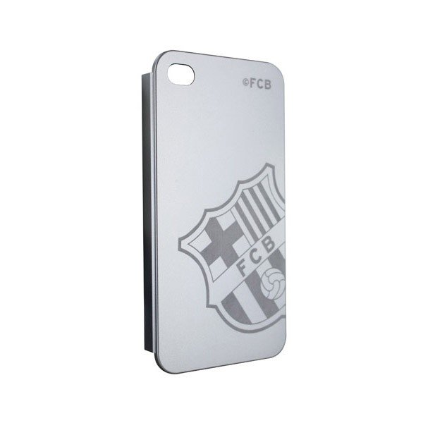 Barcelona iPhone 4/4S Hard Phone Case - Silver