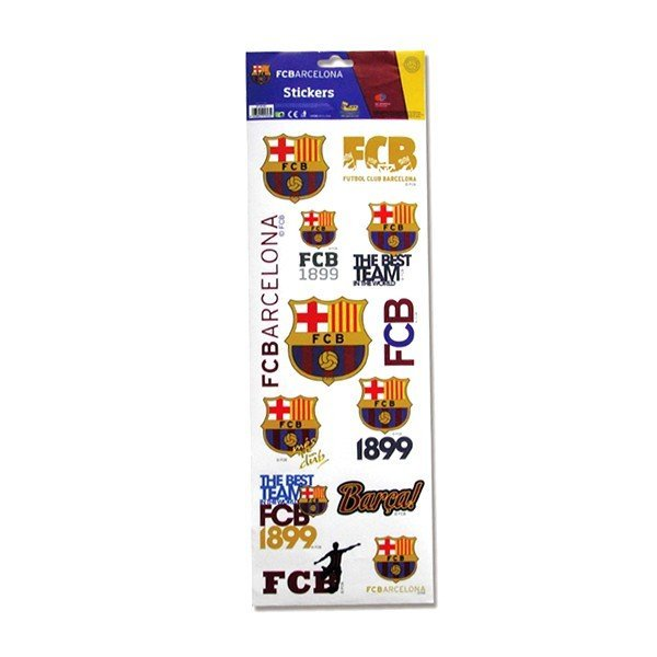 Barcelona Jumbo Sticker Set