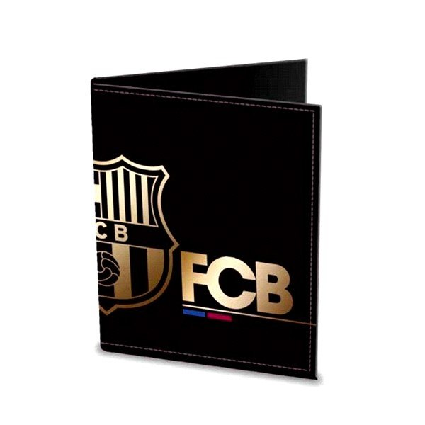 Barcelona Mens Wallet - Gold/Black