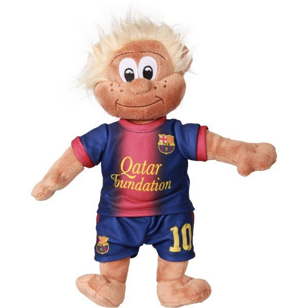 Barcelona Messi Mascot Bear - White
