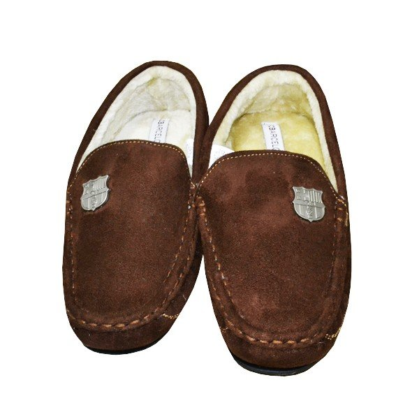 Barcelona Moccasin Slippers (7-8)