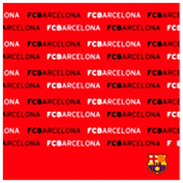 Barcelona Multi Purpose Towel - Text