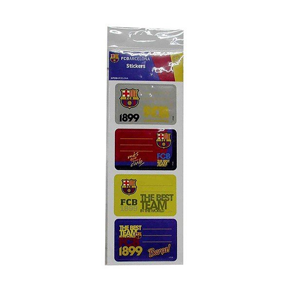 Barcelona Name Tag Sticker Set