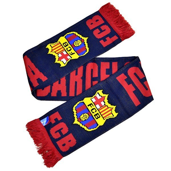 Barcelona Named Scarf - Navy