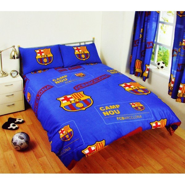 Barcelona Patch Double Duvet Set