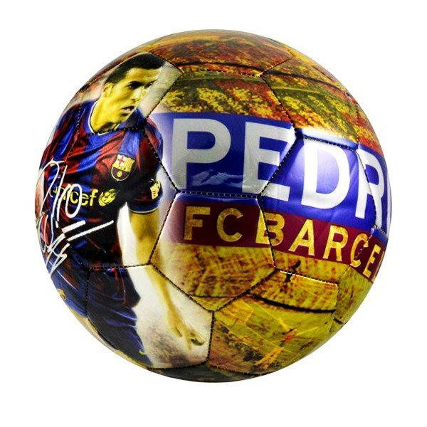 Barcelona Player Pedro Football - Size 5