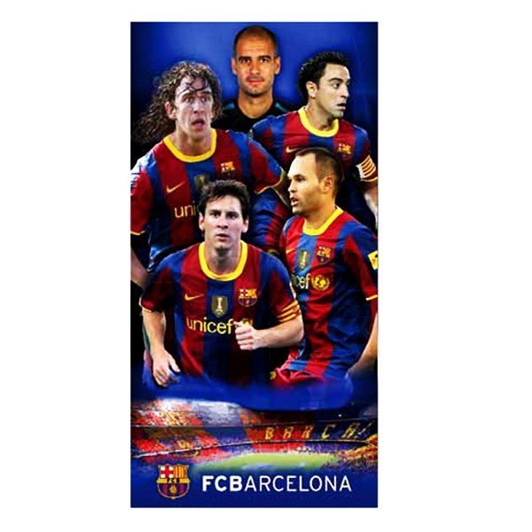 Barcelona Player Velour Beach Towel - Bar 97