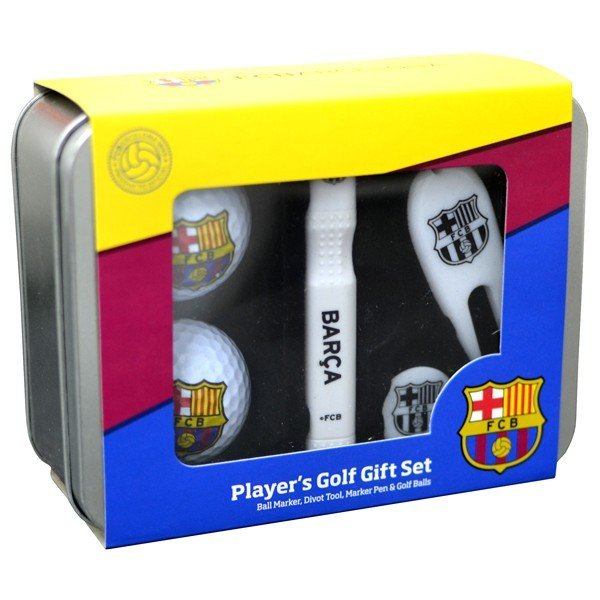 Barcelona Players Golf Gift Set