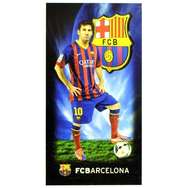 Barcelona Printed Towel - Messi