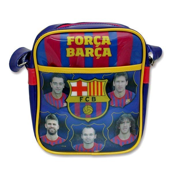 Barcelona PVC Players Shoulder Bag
